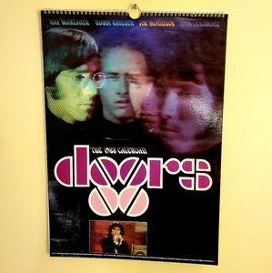 Vintage Deadstock Rare 1988 Doors Calendar